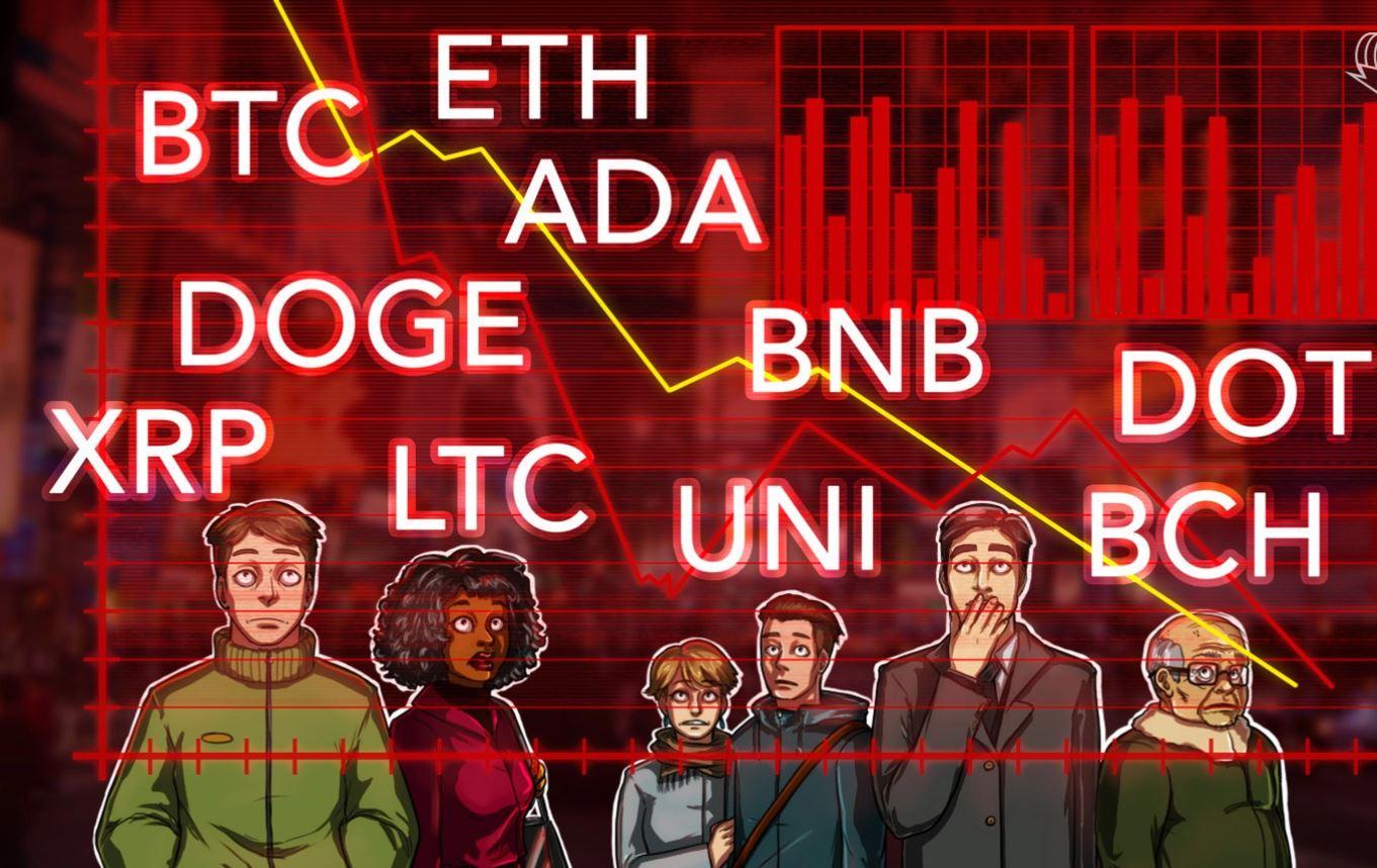 تحلیل قیمت  BTC ، ETH ، BNB ، ADA ، DOGE ، XRP ، DOT ، BCH ، UNI ، LTC